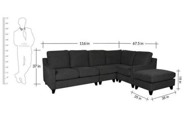 Boxena Six Seater Modern Corner 2