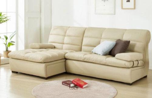 Cacia 4 Seater L shape Sofa design