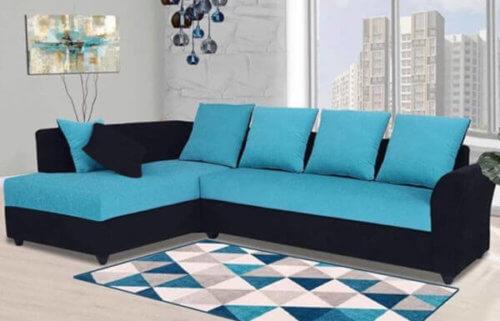 Charleen 6 Seater LHS L Shape Sofa set Designs