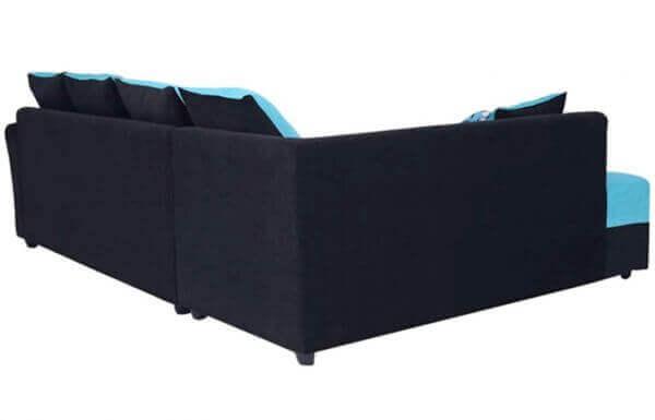 Charleen 6 Seater LHS L Shape Sofa set back
