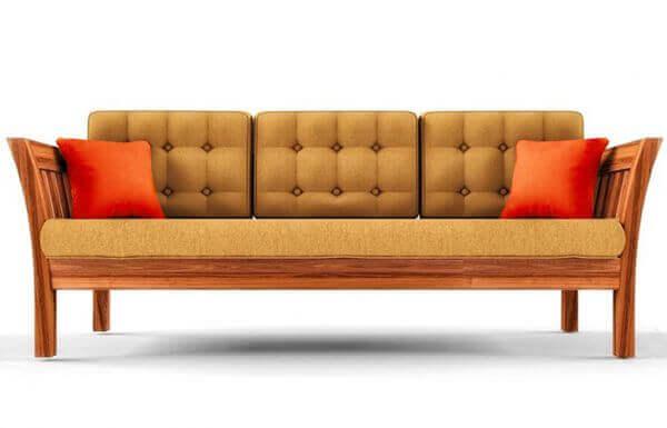 Elite 3 Seater Teakwood Sofa frame