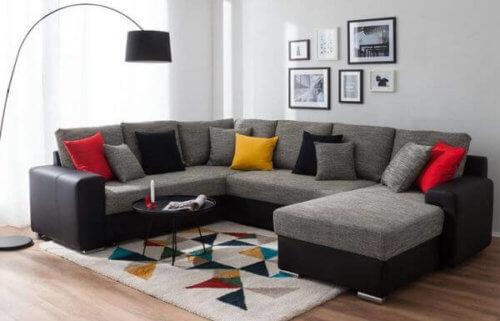 Elite 7 Seater U Shaped Sofa Set