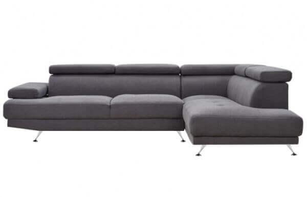 Elite L Shape Fabric Sofa 3