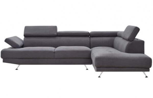 Elite L Shape Fabric Sofa RHS