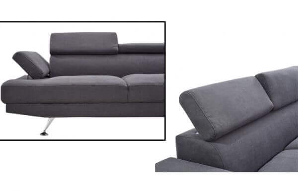 Elite L Shape Fabric Sofa zoomed
