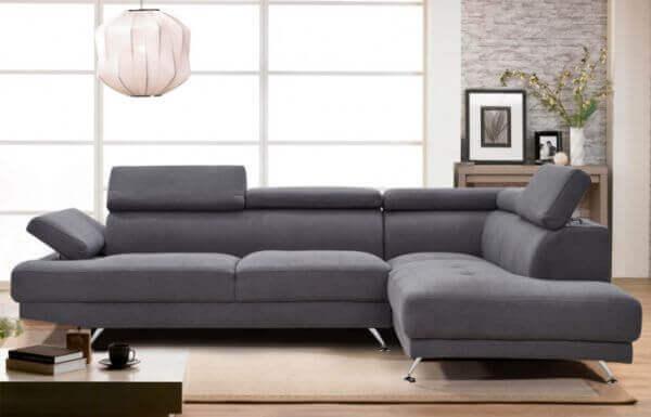 Elite L Shape Fabric Sofa