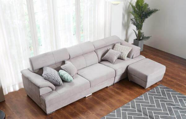 Elite Sofa with Ottoman 2