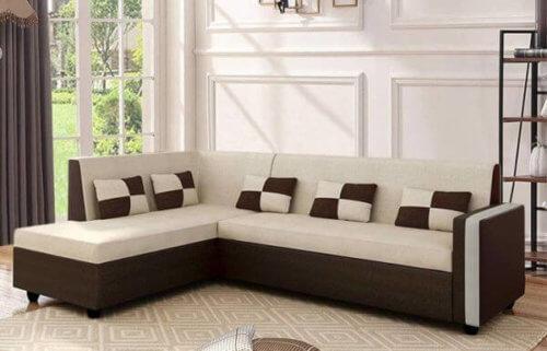 Elitesofa Lexicon 6 Seater L Shape sofa