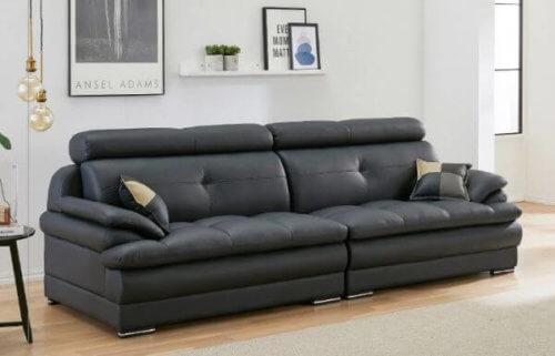 Ginato Four Seater leather Sofa design