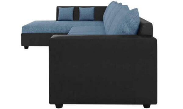 Lavis L Shape Sofa Set side