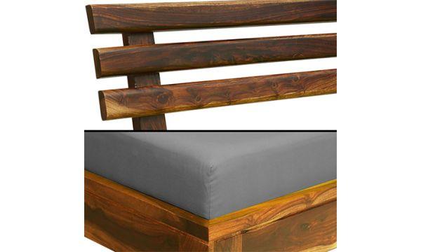 Teak wood sofa Three Seater 1