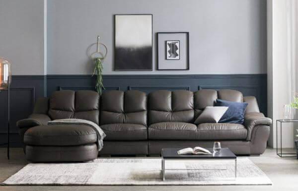 Zamia Five Seater L shape Elite Sofa 1