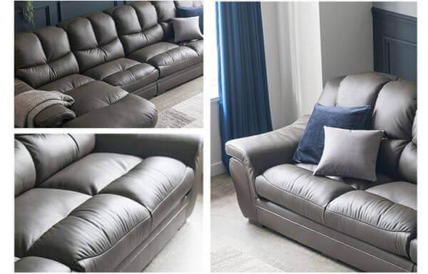 Zamia Five Seater L shape Elite Sofa material