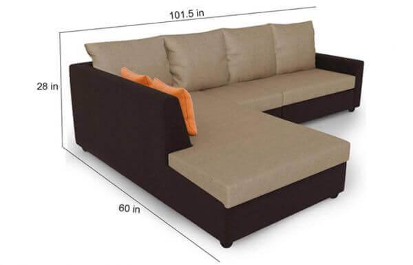 size of Sofa Set